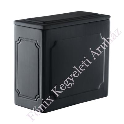 Legkisebb templomi urna - matt fekete