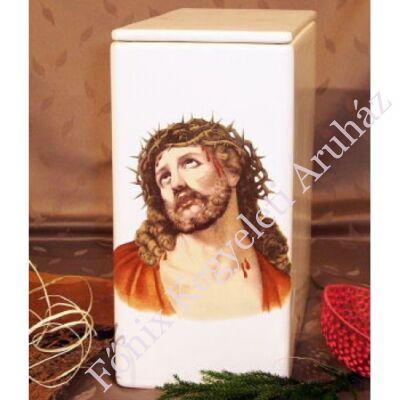 Iker fehér urna Jézus