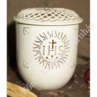 Vanda fonott urna -  IHS motívummal