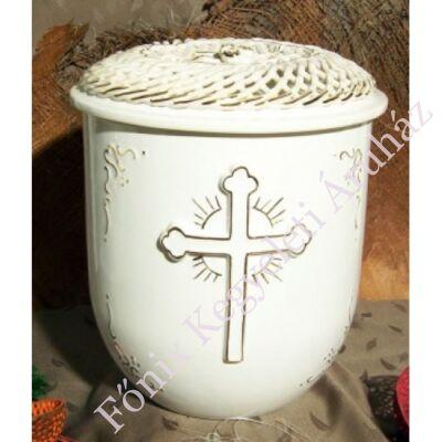 Vanda fonott urna kereszttel