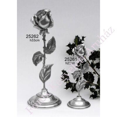 Álló rózsa relikvia tartó mini urna szelence (kicsi)