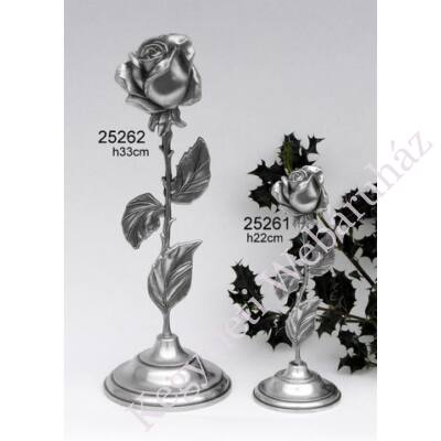 Álló rózsa relikvia tartó mini urna szelence (nagy)