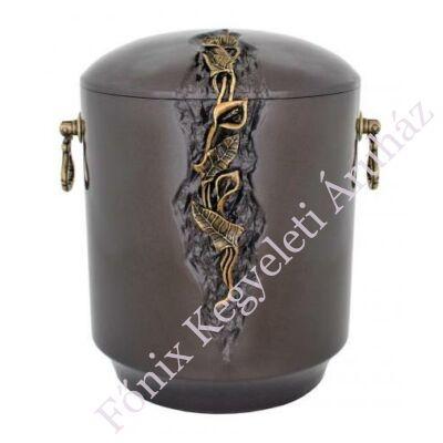 Kő kompozit urna kálás, sötét tónusú