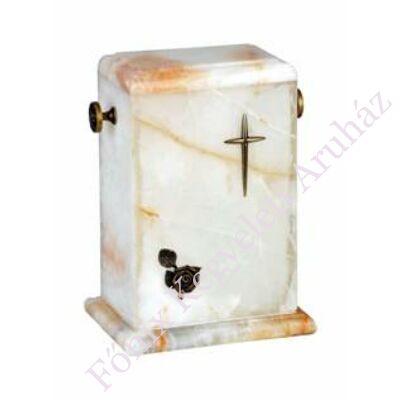 Valódi márványból készült urna többféle színben