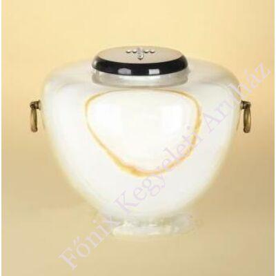 Márvány (onyx) urna amfora alakú színes