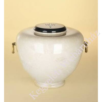 Márvány (onyx) urna amfora alakú