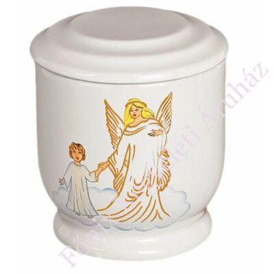 Gyerek urna angyallal