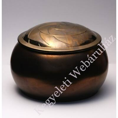 Borax bronz színű kerámia urna