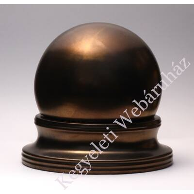 Luna bronz színű kerámia urna