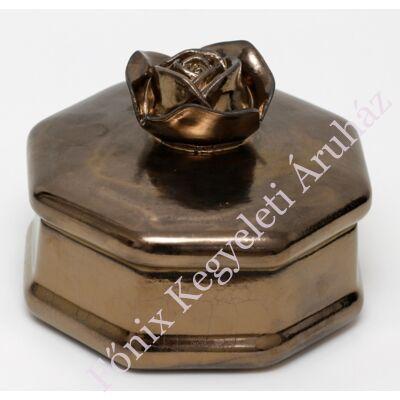 Rózsás ereklyetartó, mini urna