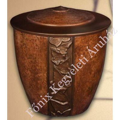 Barna borostyános urna