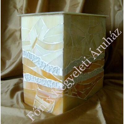 Üvegmozaik urna többféle színben