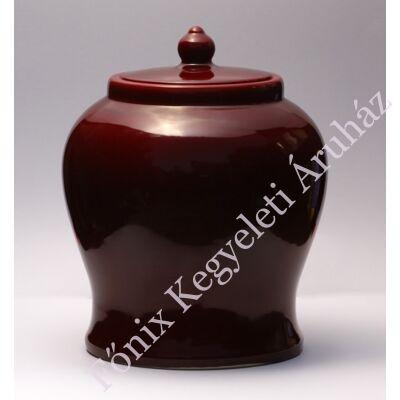Antűr bordó kerámia urna