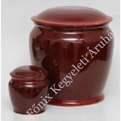 Onix bordó urna szelencével