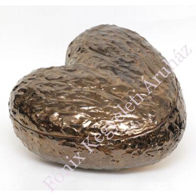 Szív alakú bronz kerámia urna