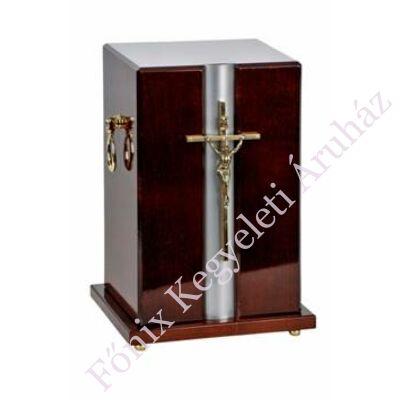Fa álló urna, feszülettel