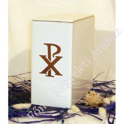 Iker fehér urna arany pax