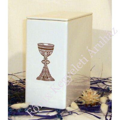 Iker fehér kelyhes urna