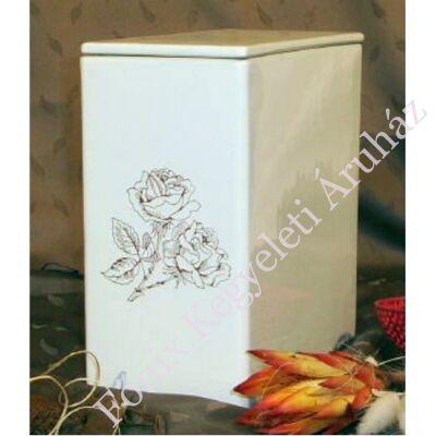 Iker fehér urna rózsa