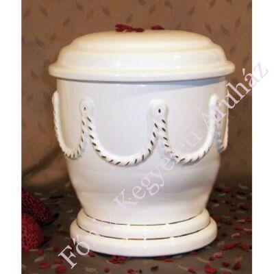 Fehér urna fonattal