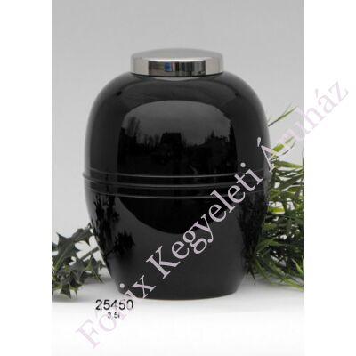 Klasszikus fekete fém urna