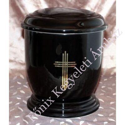 Fekete urna hármas kereszttel