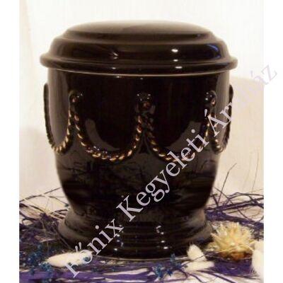 Fekete urna fonattal