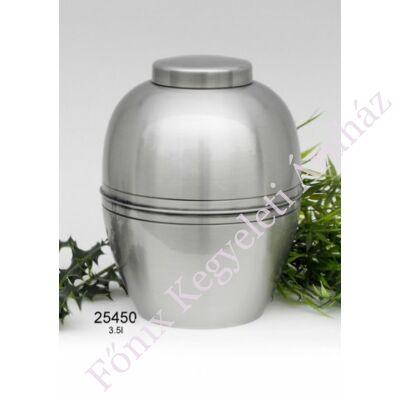 Ezüst színű fém urna