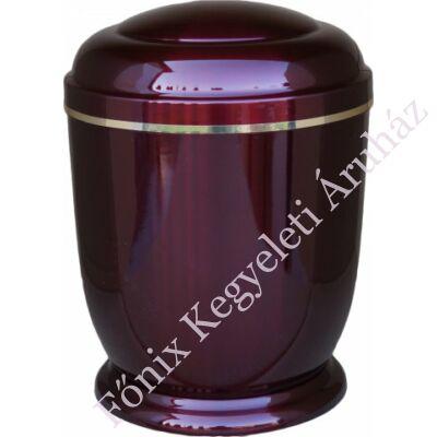 Bordó, fém urna