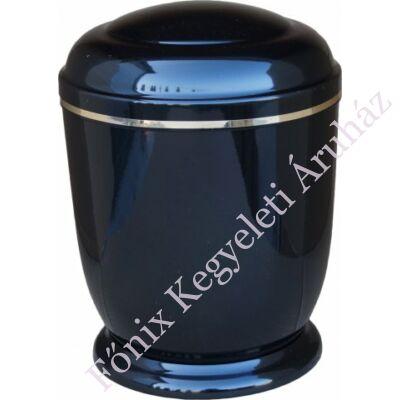 Fekete, fém urna