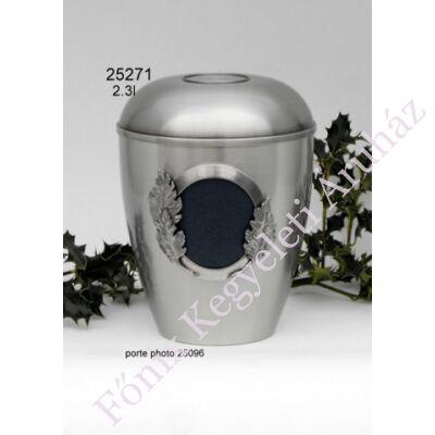 Fényképes fém urna