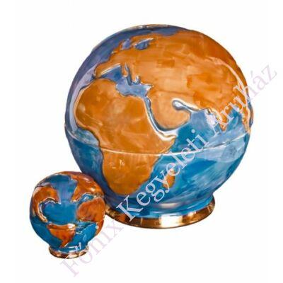Földgömb alakú urna
