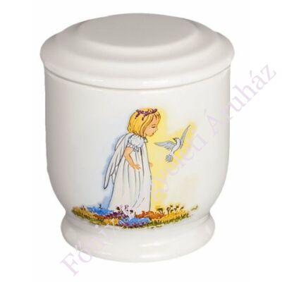 Angyalkás gyerek urna