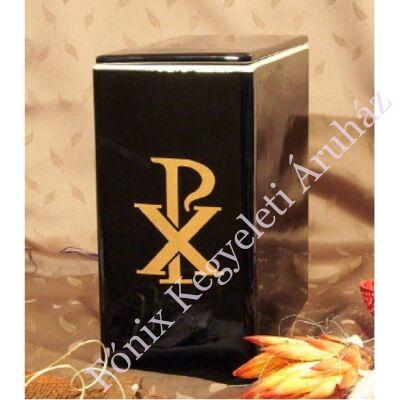 Iker fekete urna arany pax jellel