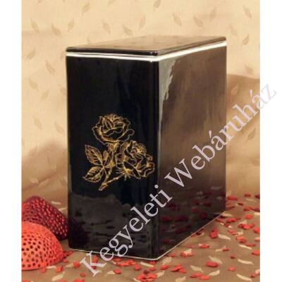 Iker fekete urna rózsa