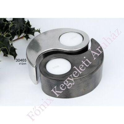 Jin-jang mini urna szelence, ereklyetartó mécses
