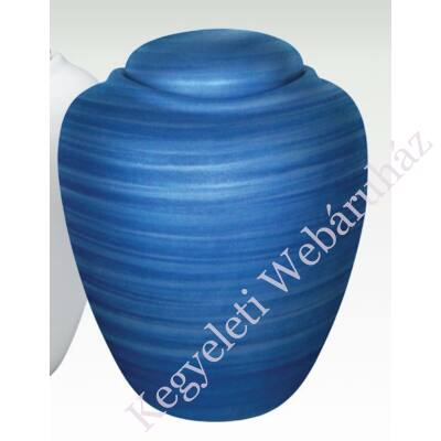 Amfóra alakú vízi urna - kék