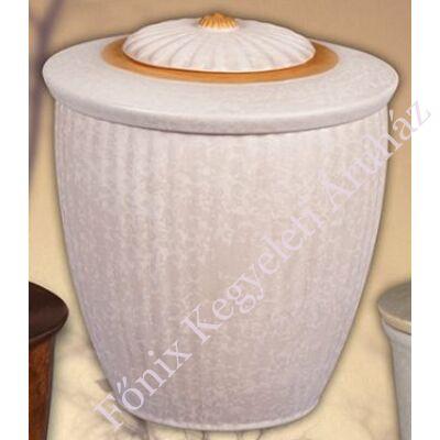 Finoman bordázott kerámia urna