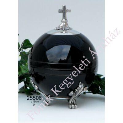 Keresztes gömb urna
