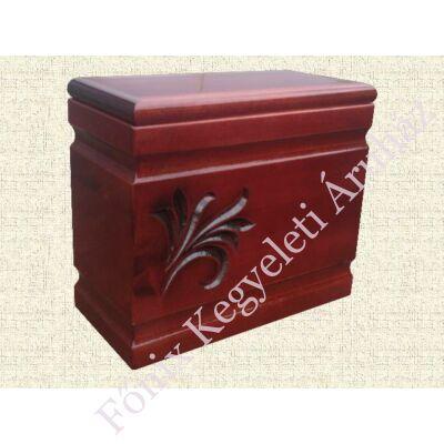 Bordó fa iker urna liliommal