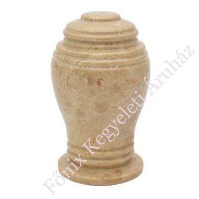 Relikviatartó, mini urna-barnás