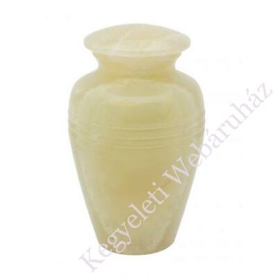 Relikviatartó, mini urna-sárgás