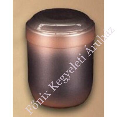 Antracit-bronz színű mini urna - relikviatartó, vagy gyermek urna
