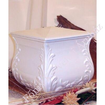 Fehér négyszög urna