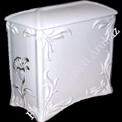 Nefelejcses fehér urna