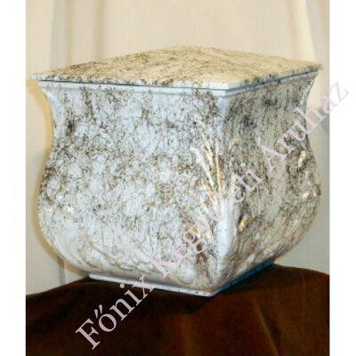 Fehér arany négyszög urna