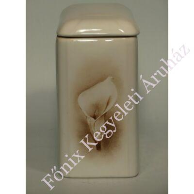 Kézzel festett iker urna, kála
