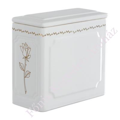 Legkisebb templomi urna - arany rózsával