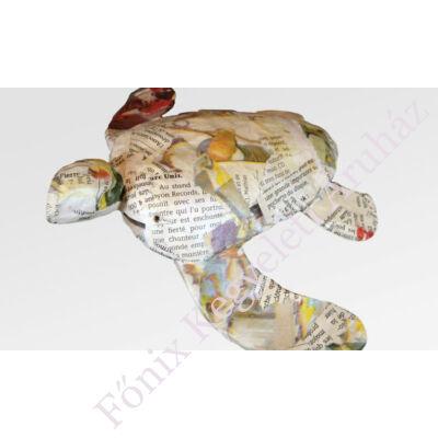 Teknősbéka alakú urna vízi temetéshez - színes (gyermek méret, vagy relikvia)