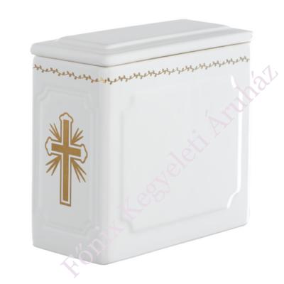 Legkisebb templomi urna - arany kereszttel